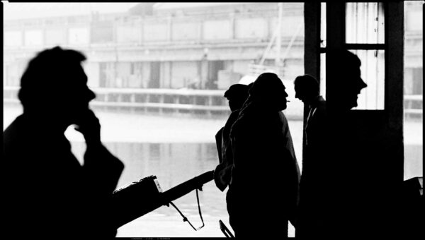 Fish Town. Grimsby Fish Docks. Steve Thornton
